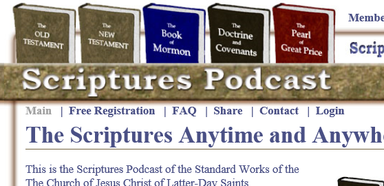 Scriptures Podcast